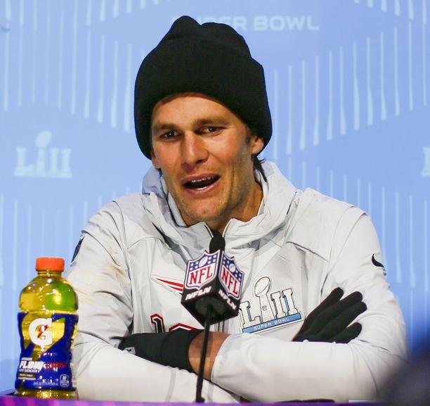 Lihaksikas urheilija Tom Brady olisi ollut Trumpille mieluisa vävy,