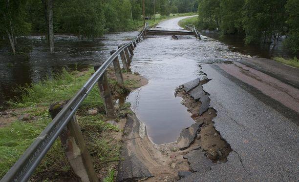 Pahin tulvatilanne uhkaa Etelä-Pohjanmaata ja Pohjois-Satakuntaa.