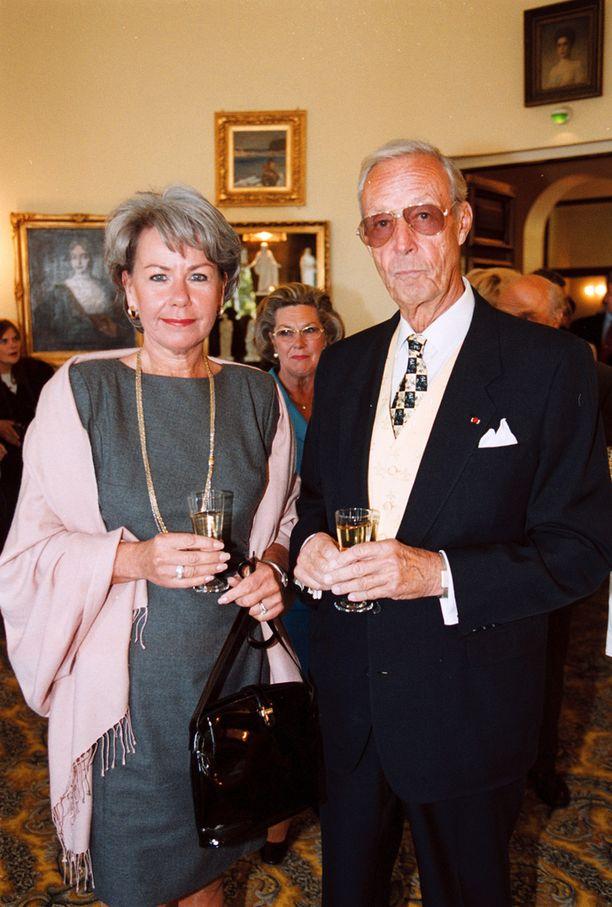 Kristina ja Tankmar Horn vuonna 1999.