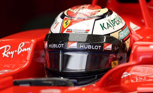 Kimi Räikkönen oli lähellä valloittaa ensimmäisen paalupaikkansa lähes yhdeksään vuoteen.