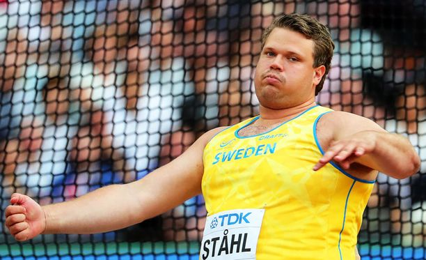 Daniel Ståhl on maaottelun suurin tähti.