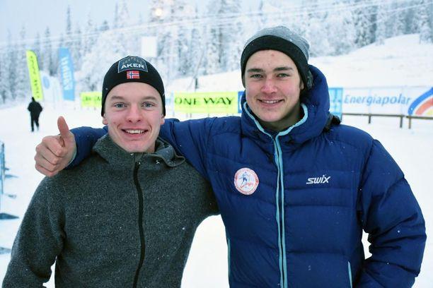 Vegard Johnsen (vas.) ja Aslak Ole Eira pitävät mahdollisena, että Norjan tähtihiihtäjät käyttävät dopingia.