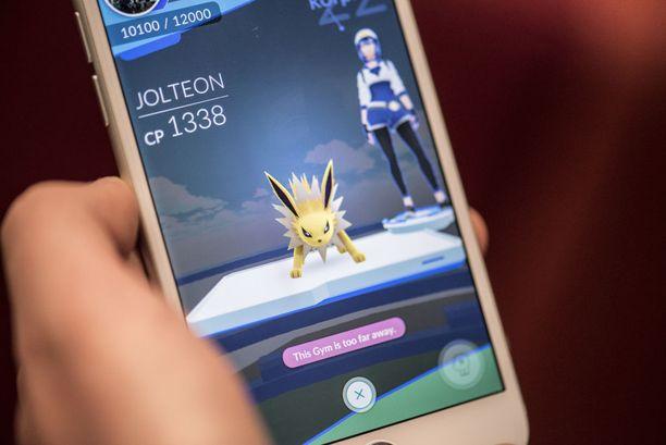 Saleilla Pokemoneilla voi ottaa mittaa toisten pelaajien Pokemoneista.