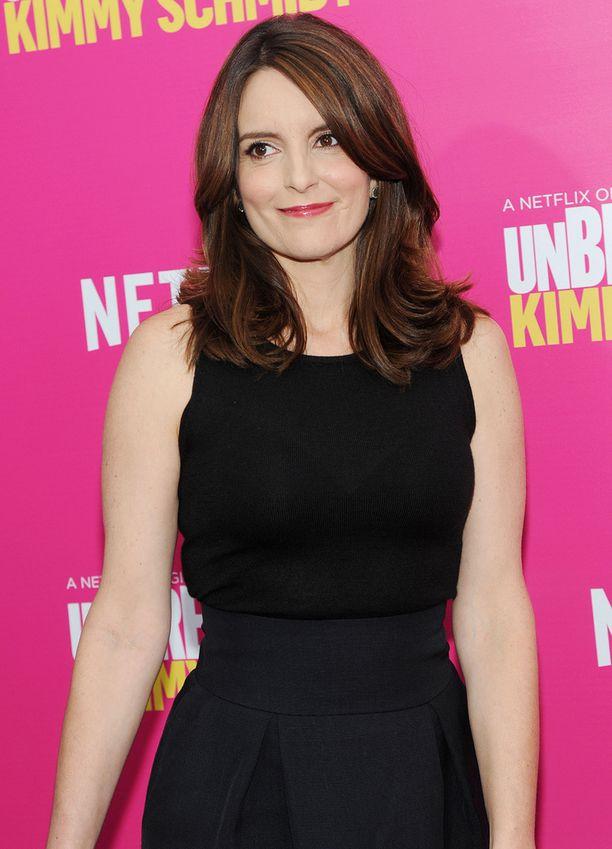 Tina Feyn uusin menestysteos on Netflix-sarja Unbreakable Kimmy Schmidt.