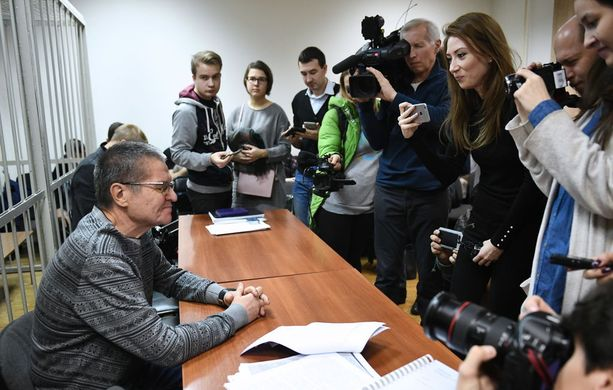 Aleksei Uljukajevia kuultiin oikeudessa maanantaina.