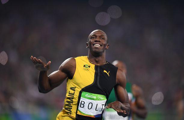 Usain Bolt ista tulee isä.