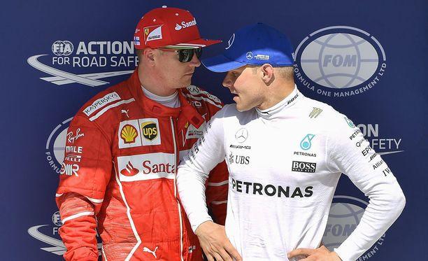 Kimi Räikkönen ja Valtteri Bottas työskentelevät keskenään hyvin erilaisissa ympäristöissä.