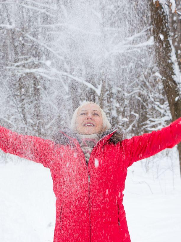 Kylmällä säälläkään ulkoilua ei kannata kokonaan unohtaa.