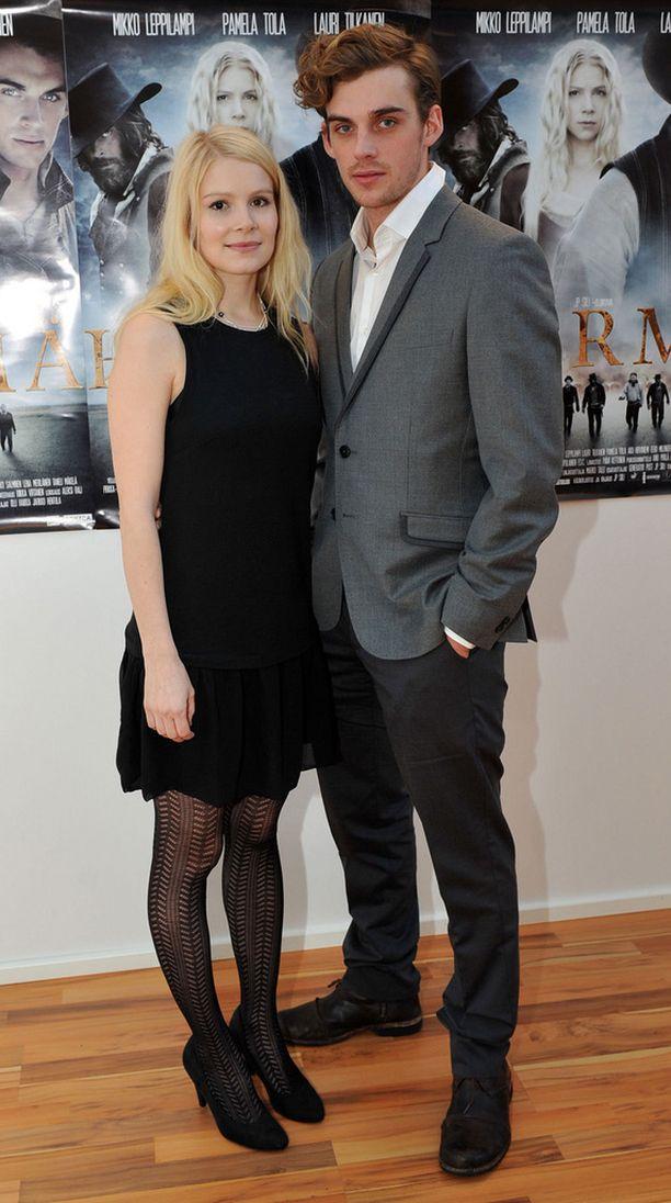Tola ja Tilkanen näyttelivät pariskuntaa vuoden 2012 Härmä-elokuvassa.