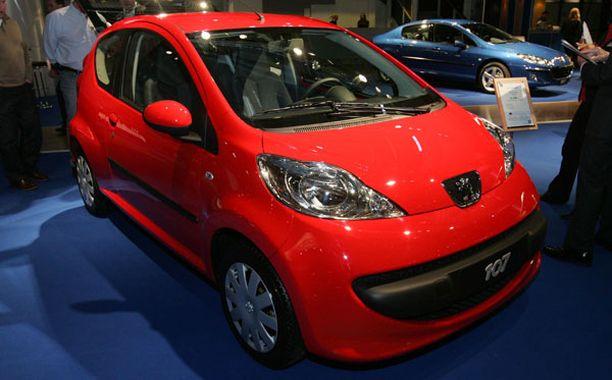 Peugeot 107 -mallin autoissa on löytynyt vikoja.