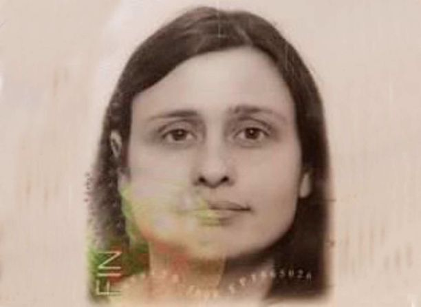 Edinburghin poliisi julkaisi Riinan passikuvan.