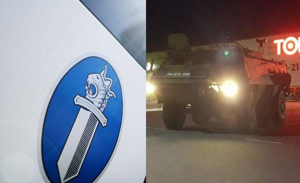 Poliisia kohti ammuttiin viimeksi lauantai-iltana Nokialla, kun poliisi pysäytti epäillyn rattijuopon.