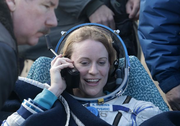 Kate Rubins on jo kokenut avaruusäänestäjä.