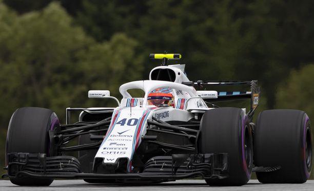 Robert Kubica toimii Williamsin testi- ja varakuljettajana.