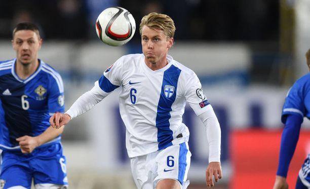 Rasmus Schüller pelasi tänään 79 minuuttia.