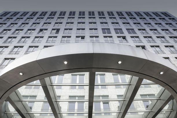 Uniperin pääkonttori Saksan Dusseldorfissa.