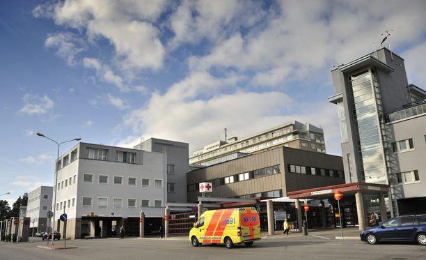 Altistuneet lapset tutkitaan Kuopion yliopistollisessa sairaalassa.
