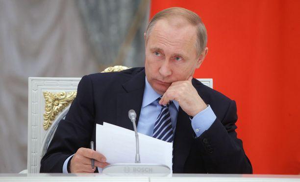 Venäjän presidentti Vladimir Putin.