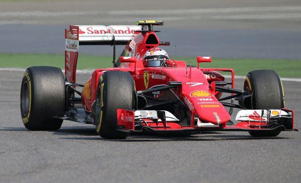 Kimi Räikkönen ei ole vielä tällä kaudella onnistunut aika-ajossa.