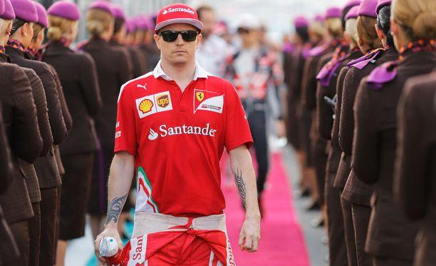 Kimi Räikkönen pääsee ajamaan uudella Ferrari-autolla helmikuun lopussa Barcelonassa.