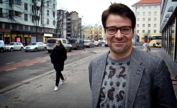Vihreiden puheenjohtaja Ville Niinistö pitää Helsingin herruutta kuntavaalien yhtenä keskeisimmistä kysymyksistä.