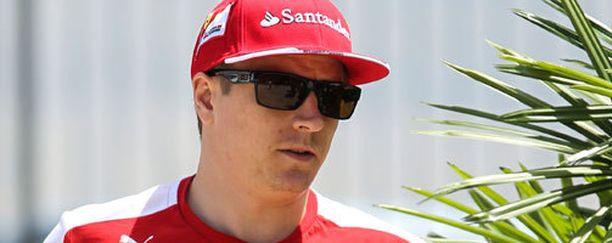 Kimi Räikkösen aika-ajo meni vihkoon.