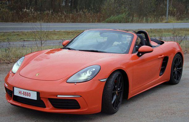 Keulan ilme on aitoa Porschea.