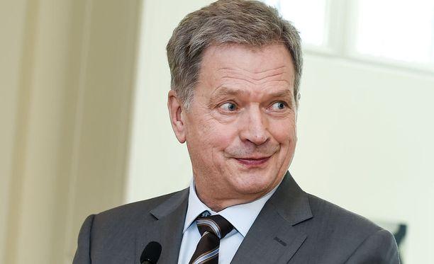 Niinistö lähtee presidentinvaaleihin ennakkosuosikkina.