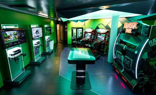 M/S Viking Gracen nuorten pelihuone on kokenut muutoksen.