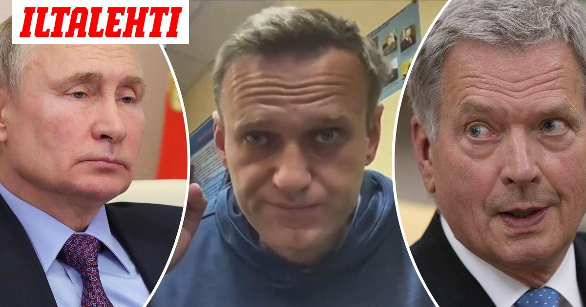 Niinistö soitti Putinille  keskustelun aiheena Navalnyin vangitseminen