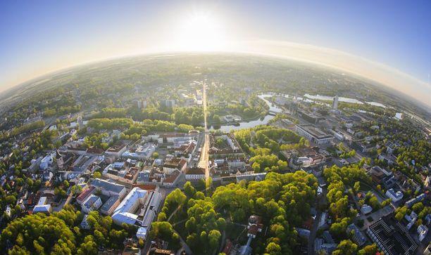 Tartto on Viron vappupääkaupunki.