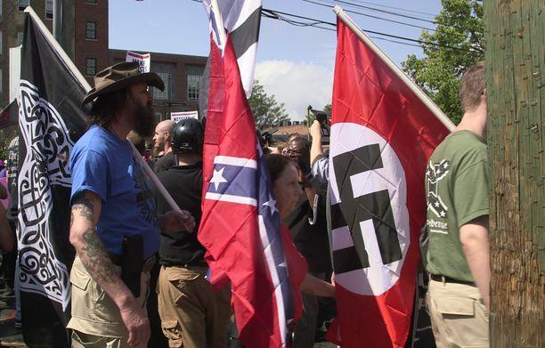 Unite the Right -tapahtuma veti vuosi sitten monenkirjavaa joukkoa Virginian Charlottesvilleen.