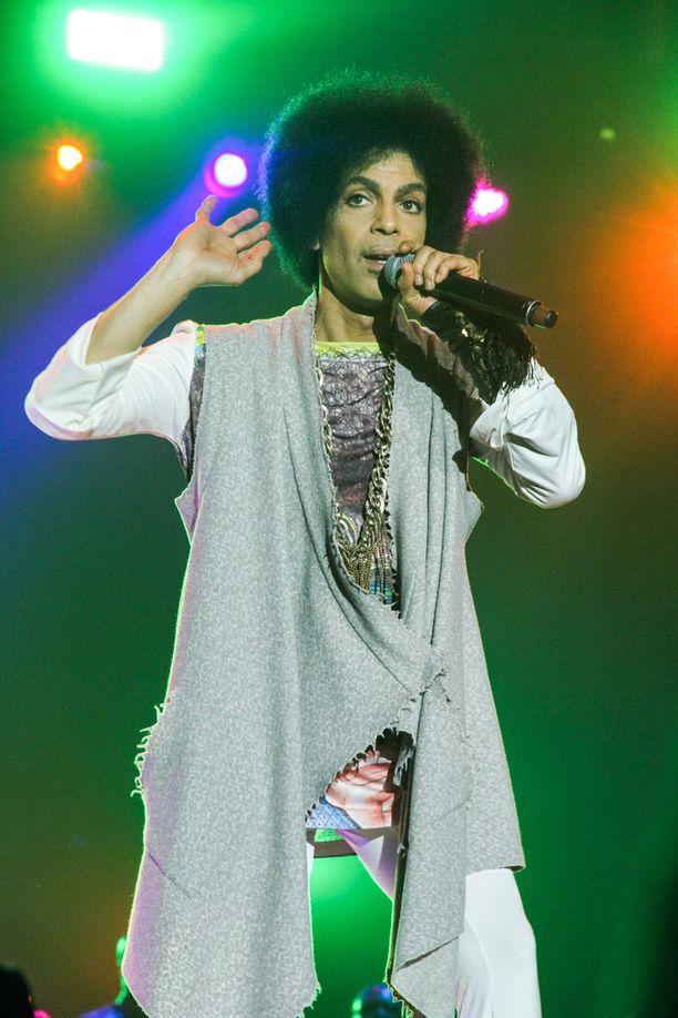 Muusikko Prince kuoli 57-vuotiaana.
