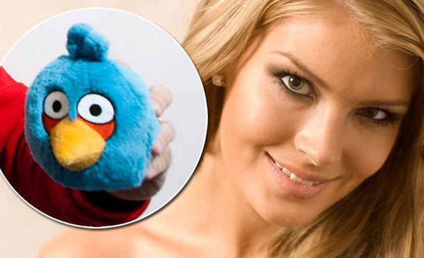 Pia vei Miss Universum -kisoihin sata Angry Birds -lelua.