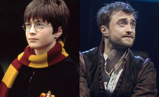 Daniel Radcliffe, eli Harry Potter.