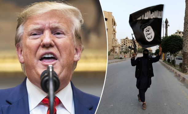 Yhdysvaltain presidentti Donald Trump ei ole vaikuttanut olevan erityisesti huolissaan siitä, että Turkin hyökkäys Pohjois-Syyriaan voi päästää Isis-taistelijoita vapauteen.