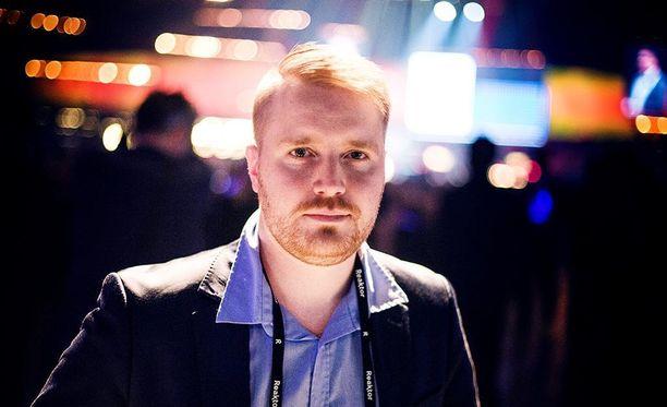 StepOne Techin Tuomo Isokivijärvi etsi tämän vuoden Slushista sijoittajia yrityksen kansainvälistymiseen.