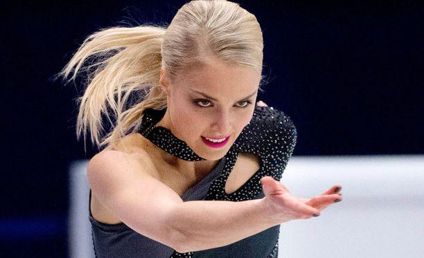 Kiira Korpi sai lyhytohjelmastaan pisteet 60,60.