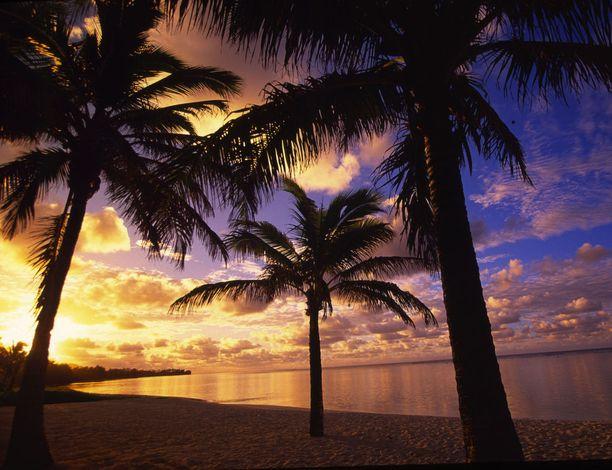 Uudesta-Seelannista ehtisi Rarotongalle ennen kuin vuosi vaihtuu siellä.