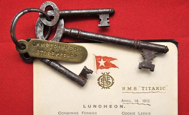 Titanicin viimeinen lounaslista myytiin huutokaupassa huippuhintaan.