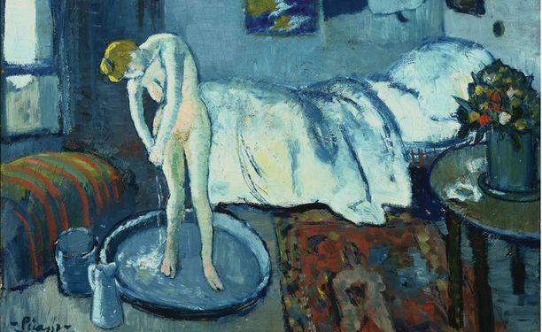 Picasson Sininen huone on vuodelta 1901.