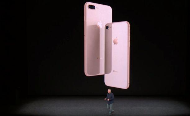 Tältä näyttää Iphone 8 -puhelin.