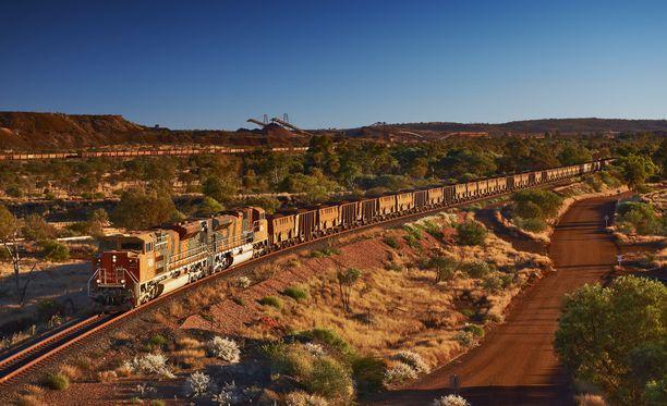 Malmijunassa oli 268 vaunua.