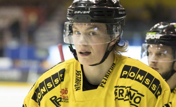 Alexander Ruuttu onnistui kahdesti kotiottelussa.