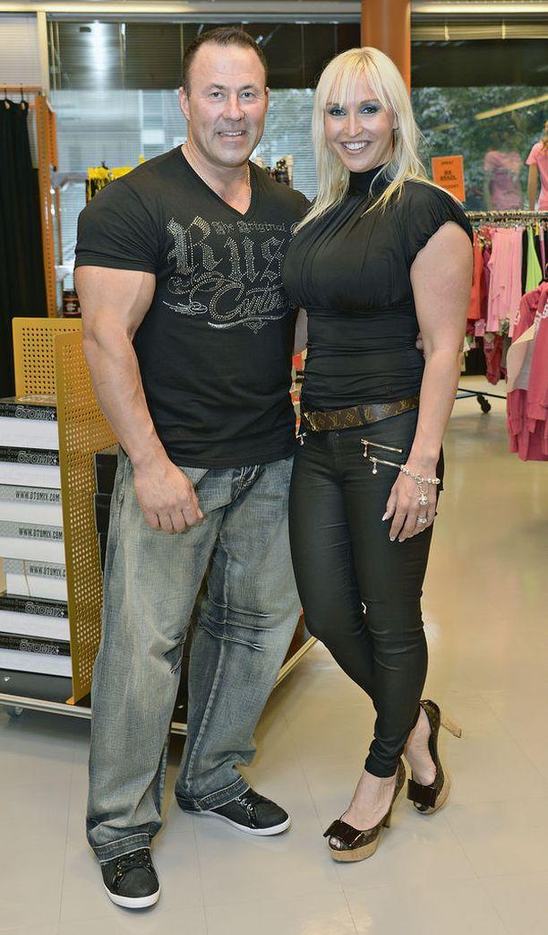 Ari Kokkonen seurusteli Jutan kanssa kuusi vuotta. Pari erosi vuonna 2016.