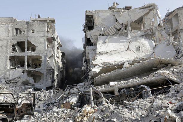 Tältä Damaskos näytti toukokuussa.