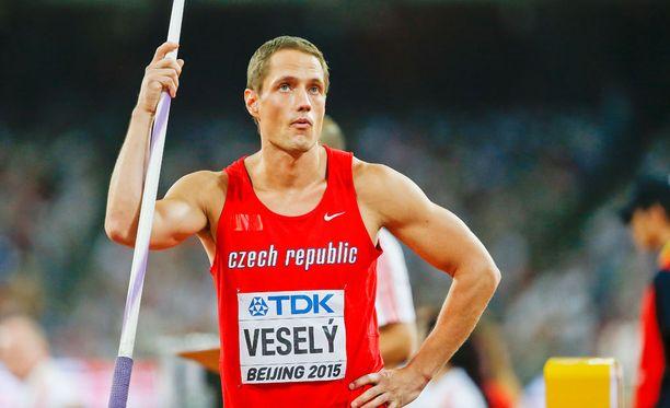 Vesely on hallitseva maailmanmestari.