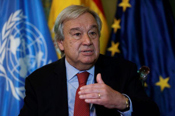 António Guterresilta vaaditaan nopeaa ratkaisua YK:n henkilöstön evakuoinnin suhteen.