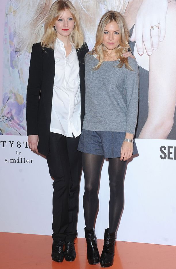 Savannah ja Sienna Miller