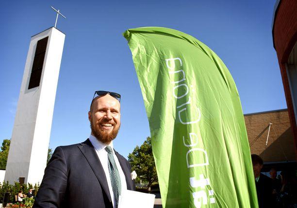 Vihreät kokoustaa Touko Aallon johdolla viikonloppuna Vantaan Korsossa.